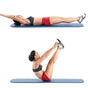 Abs crunches weight loss