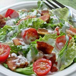 Weight loss BLT salad