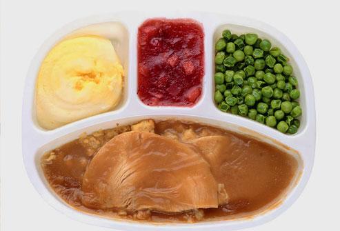 Weight loss frozen dinner