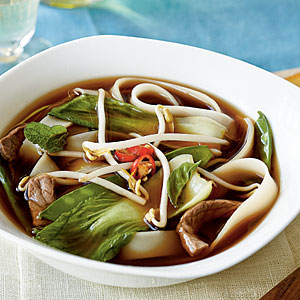 Weight loss noodle soup
